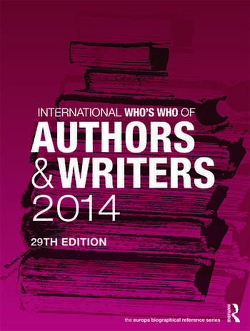International Who's Who of Authors and Writers 2014 book cover