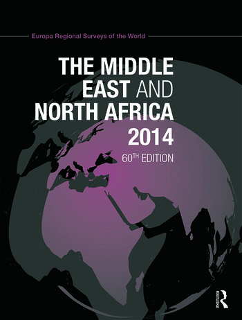 The Middle East and North Africa 2014 book cover