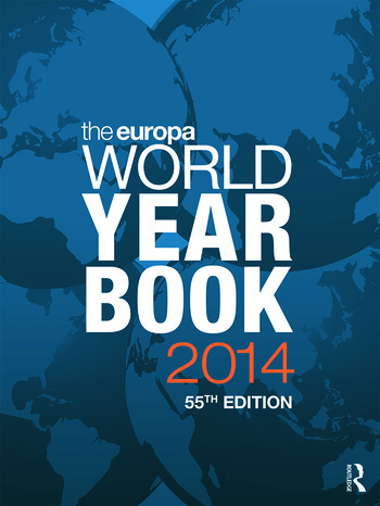 The Europa World Year Book 2014 book cover