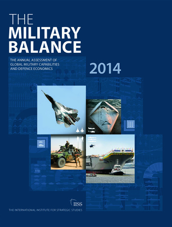 The Military Balance 2014 book cover