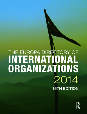 The Europa Directory of International Organizations 2014 book cover