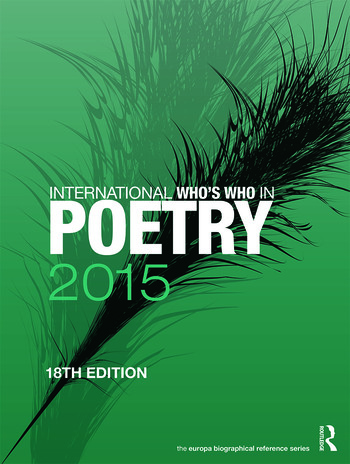 International Who's Who in Poetry 2015 book cover
