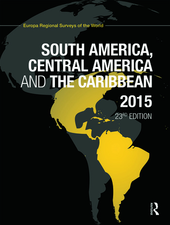 South America, Central America and the Caribbean 2015 book cover