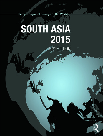 South Asia 2015 book cover