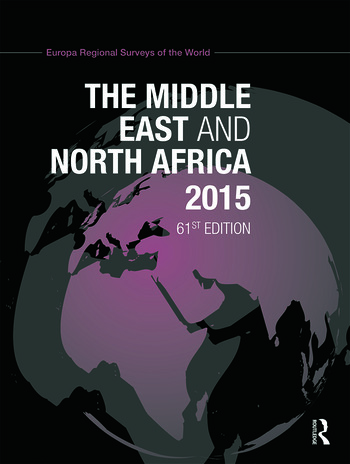 The Middle East and North Africa 2015 book cover