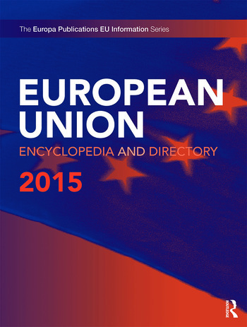 European Union Encyclopedia and Directory 2015 book cover