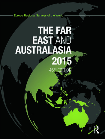 The Far East and Australasia 2015 book cover