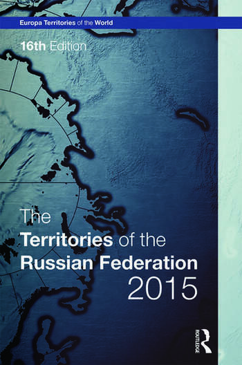 The Territories of the Russian Federation 2015 book cover