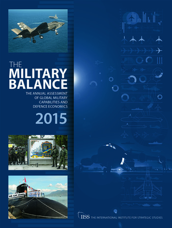 The Military Balance 2015 book cover