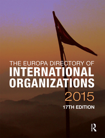 The Europa Directory of International Organizations 2015 book cover