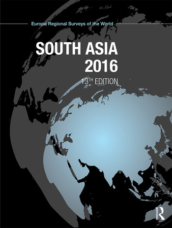 South Asia 2016 book cover