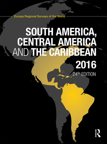 South America, Central America and the Caribbean 2016 book cover