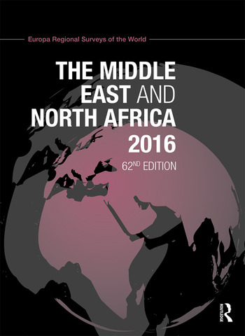 The Middle East and North Africa 2016 book cover