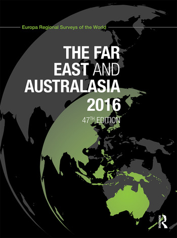 The Far East and Australasia 2016 book cover