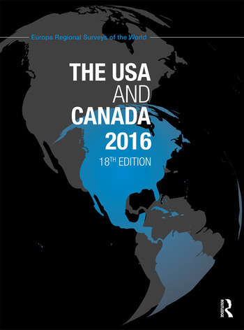 The USA and Canada 2016 book cover