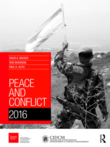 Peace and Conflict 2016 book cover