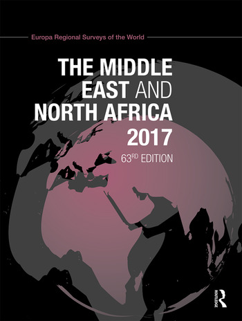 The Middle East and North Africa 2017 book cover