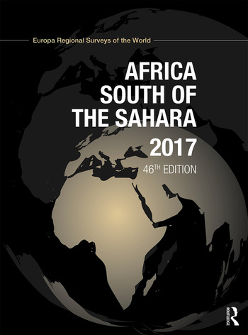 Africa South of the Sahara 2017 book cover