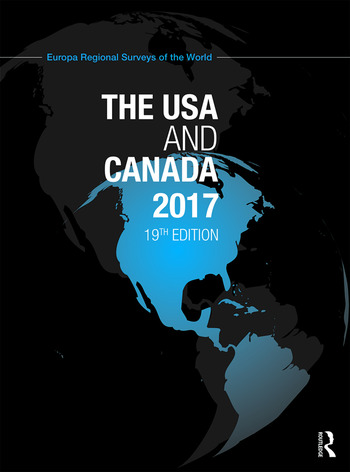 The USA and Canada 2017 book cover