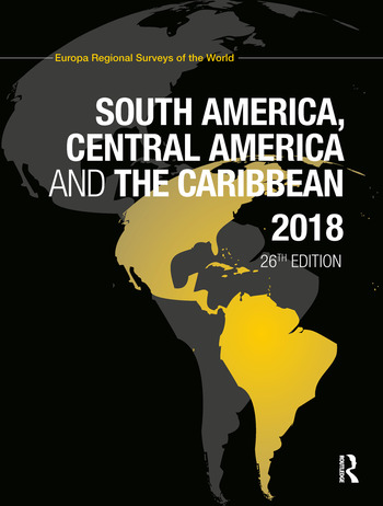 South America, Central America and the Caribbean 2018 book cover