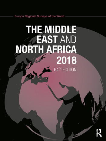The Middle East and North Africa 2018 book cover