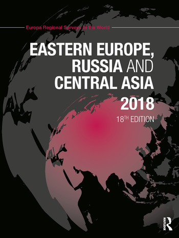 Eastern Europe, Russia and Central Asia 2018 book cover