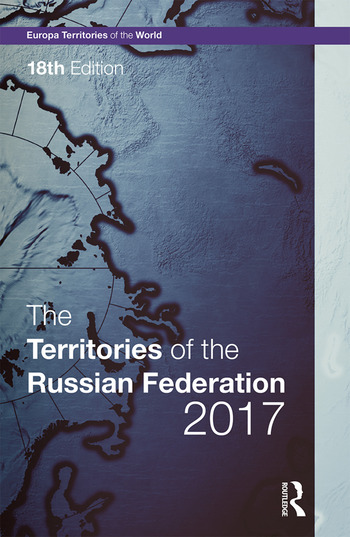 The Territories of the Russian Federation 2017 book cover