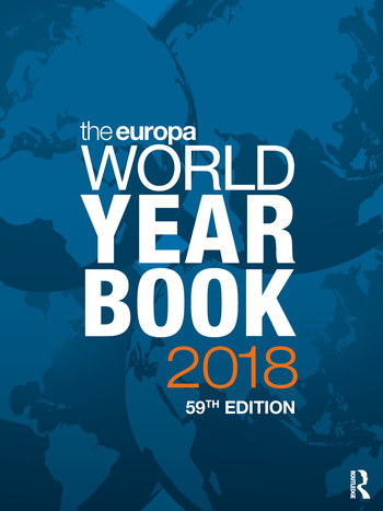 The Europa World Year Book 2018 book cover