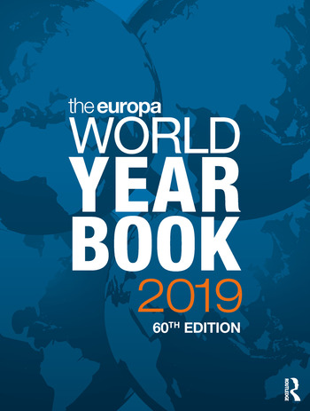 The Europa World Year Book 2019 book cover