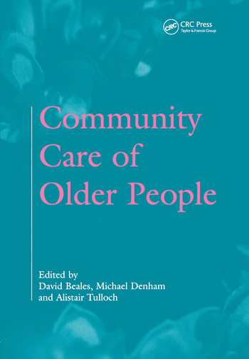 Community Care of Older People book cover