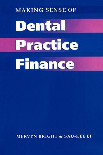 Making Sense of Dental Practice Finance book cover