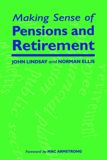 Making Sense of Pensions and Retirement book cover