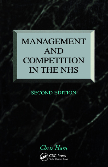 Management and Competition in the NHS book cover