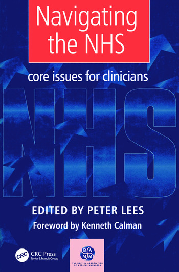 Navigating the NHS Core Issues for Clinicians book cover