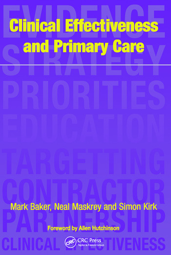 Clinical Effectiveness in Primary Care book cover