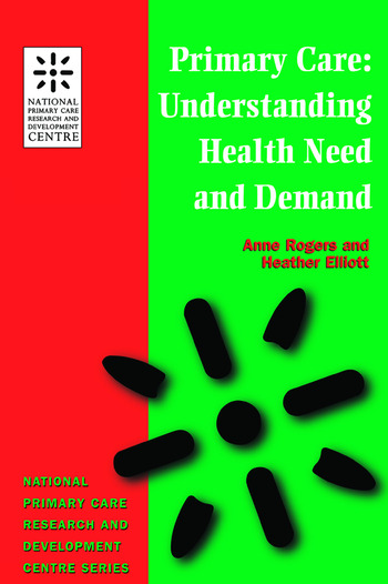 Primary Care Understanding Health Need and Demand book cover