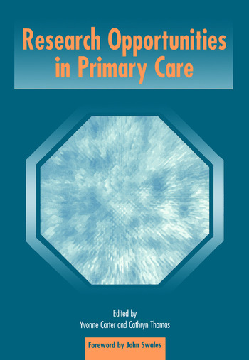 Research Opportunities in Primary Care book cover