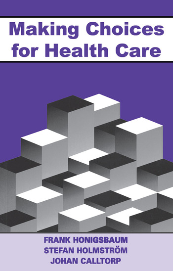 Making Choices for Healthcare book cover