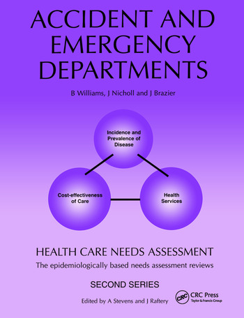 Health Care Needs Assessment The Epidemiologically Based Needs Assessment Review book cover