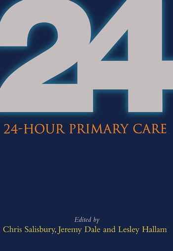 24 Hour Primary Care book cover