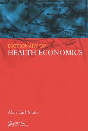 Dictionary of Health Economics book cover