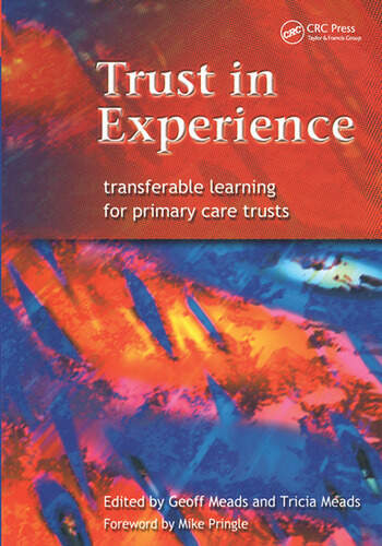 Trust in Experience Transferable Learning for Primary Care Trusts book cover