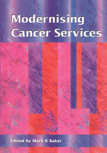 Modernising Cancer Services book cover