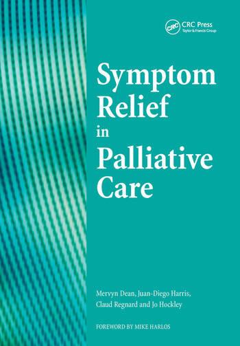Sympton Relief in Palliative Care book cover