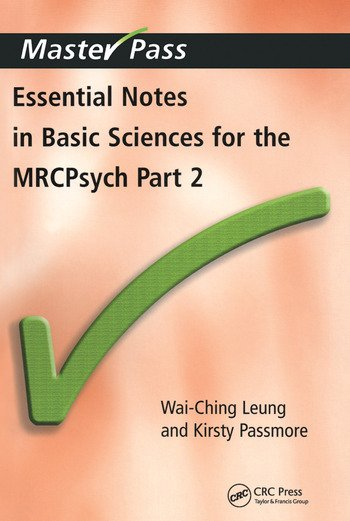 Essential Notes in Basic Sciences for the MRCPsych Pt. 2 book cover