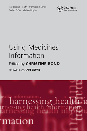 Using Medicines Information book cover