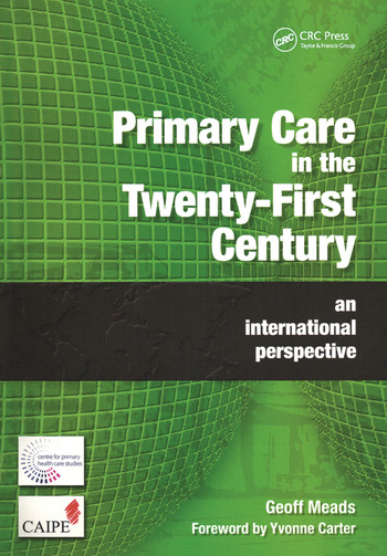 Primary Care in the Twenty-First Century An International Perspective book cover