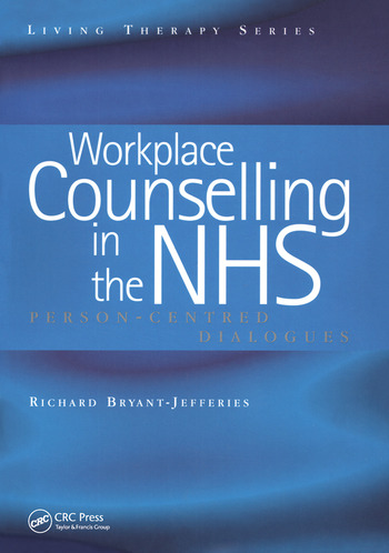 Workplace Counselling in the NHS Person-Centred Dialogues book cover