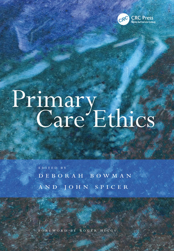 Primary Care Ethics book cover
