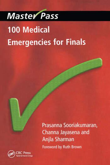 100 Medical Emergencies for Finals book cover